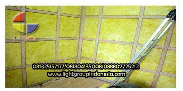 menyusun glasswool | LightGroup 081325157177 081804135008